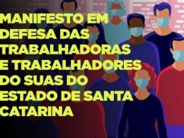 FETSUAS/SC lança manifesto em defesa dos trabalhadores do SUAS