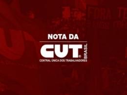Em nota, CUT repudia aprovação da terceirização pelo STF