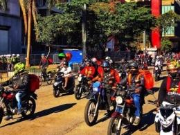 Brasil já tem quase um milhão de motoboys e maioria é informal, diz Dieese