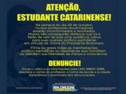 Professores e jornalistas são alvos da repressão de apoiadores de Bolsonaro