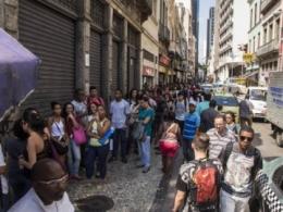 Desemprego sobe para 17,5% na região metropolitana de São Paulo