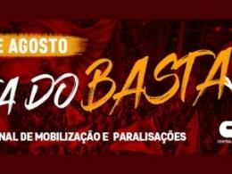 Santa Catarina está mobilizando os trabalhadores para o Dia do Basta